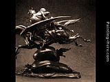Antoine Louis Barye Roger and Angelica on the Hippogriff [detail 1] painting